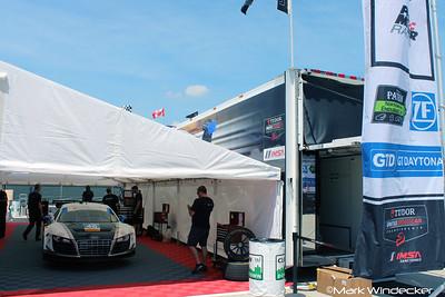 Paul Miller Racing Audi R8 LMS