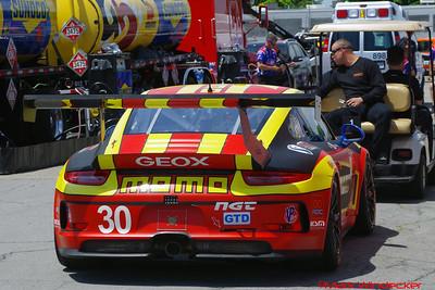 MOMO/GT Motorsports Porsche 911 GT America