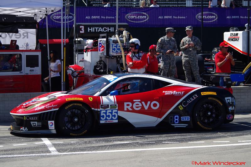 AIM Autosport Ferrari 458 Italia