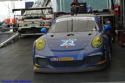 Team Seattle/Alex Job Racing Porsche 911 GT America