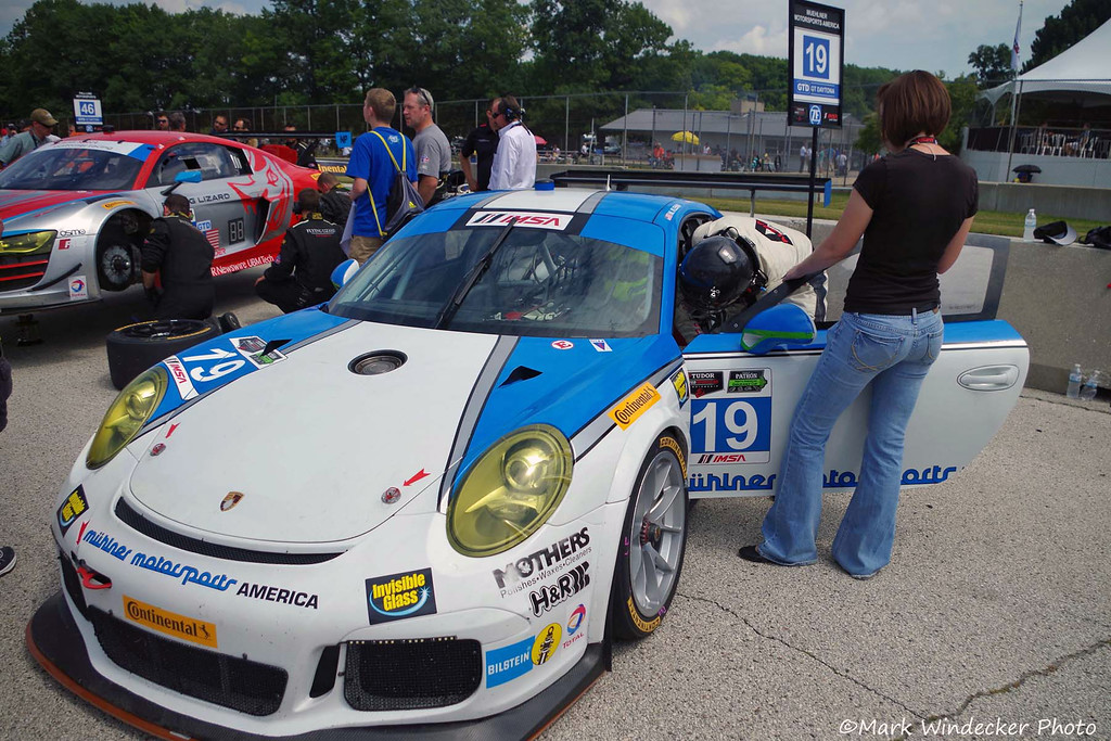 GTD-Muehlner Motorsports America Muehlner Porsche 911 GT America
