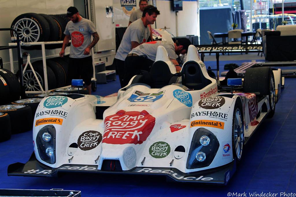 PC-PR1/Mathiasen Motorsports ORECA FLM09