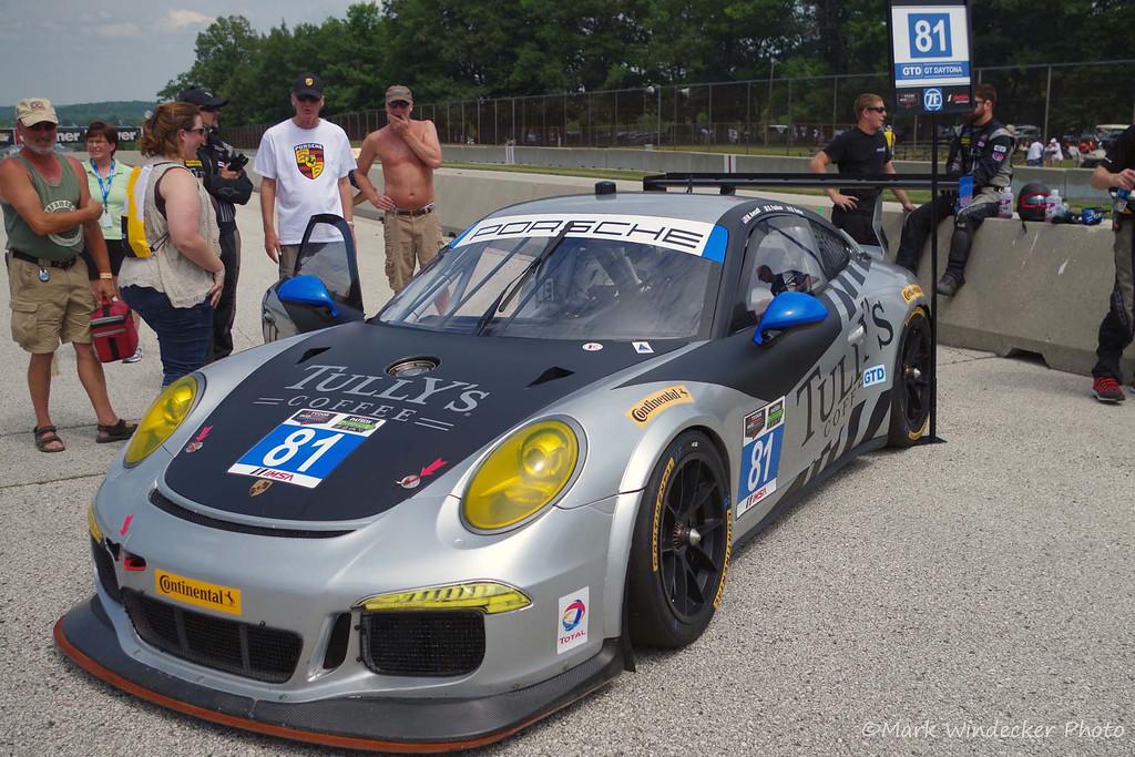 GTD-GB Autosport Porsche 911 GT America
