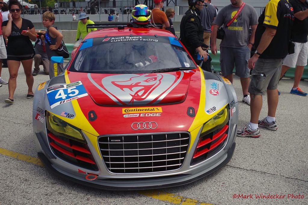GTD-Flying Lizard Motorsports Audi R8 LMS