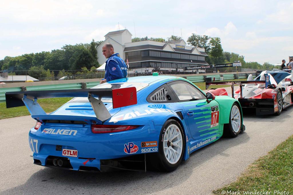 GTLM-Team Falken Tire Porsce 911 RSR
