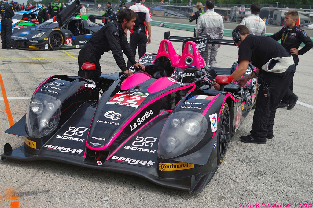 P-OAK Racing Morgan/Nissan