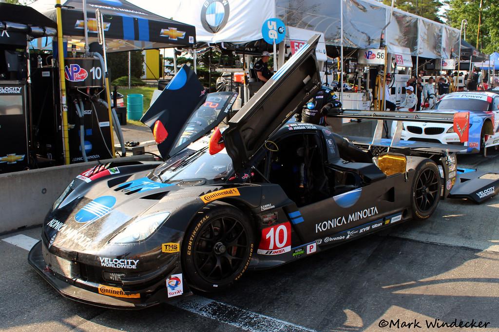 P Wayne Taylor Racing Corvette DP