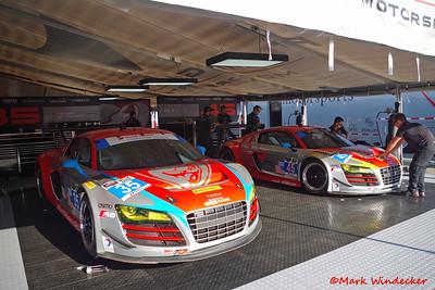 GTD Flying Lizard Motorsports Audi R8 LMS