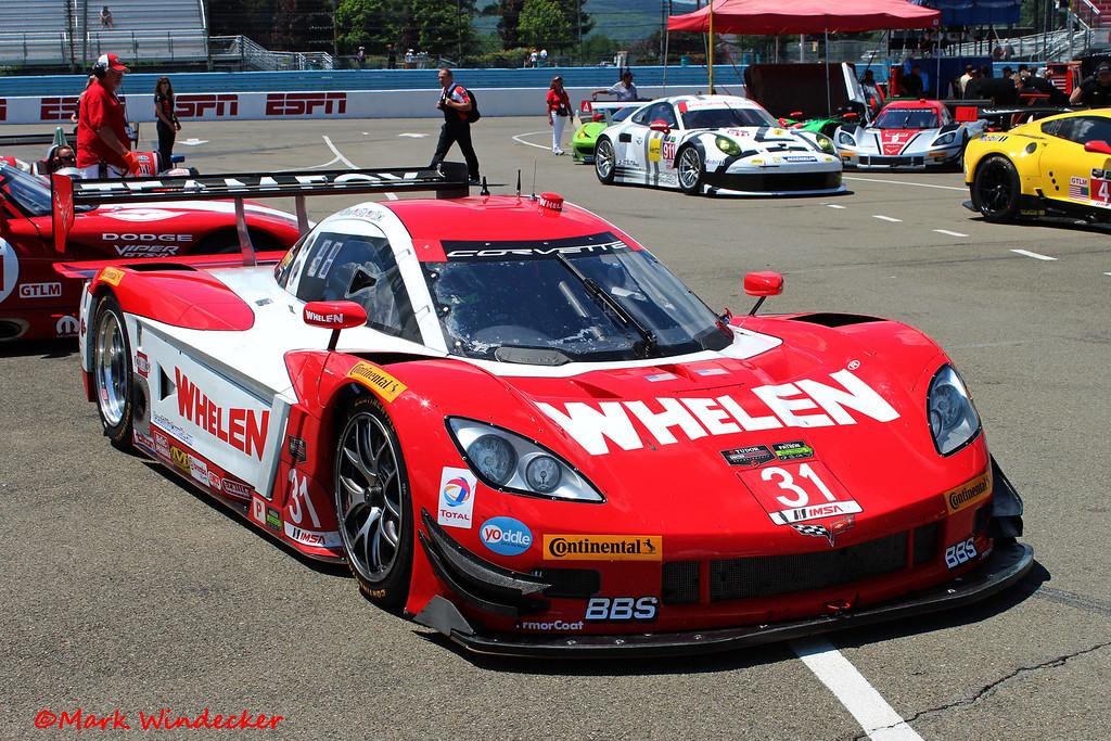 P Marsh Racing Corvette DP