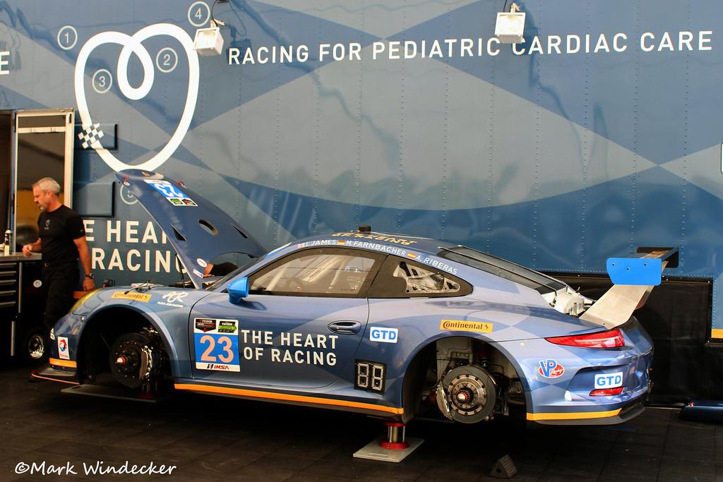 GTD Team Seattle/Alex Job Racing Porsche 911 GT America
