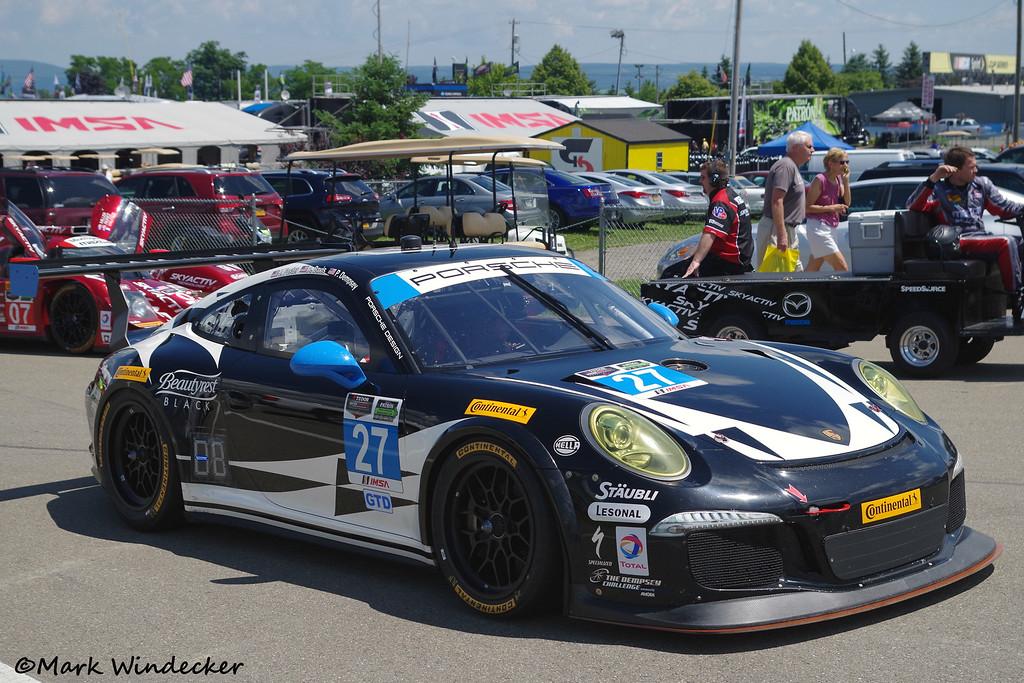 GTD Dempsey Racing Porsche 911 GT America