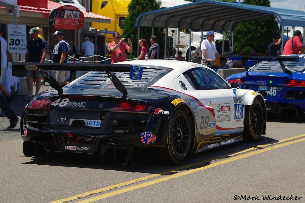 GTD Paul Miller Racing Audi R8 LMS
