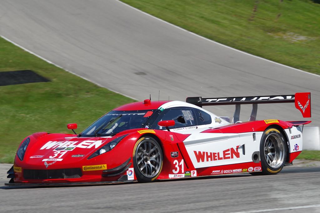 2nd Eric Curran/Dane Cameron Corvette DP