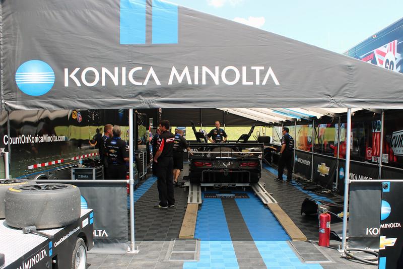 No. 10 Konica Minolta Corvette DP for Wayne Taylor Racing