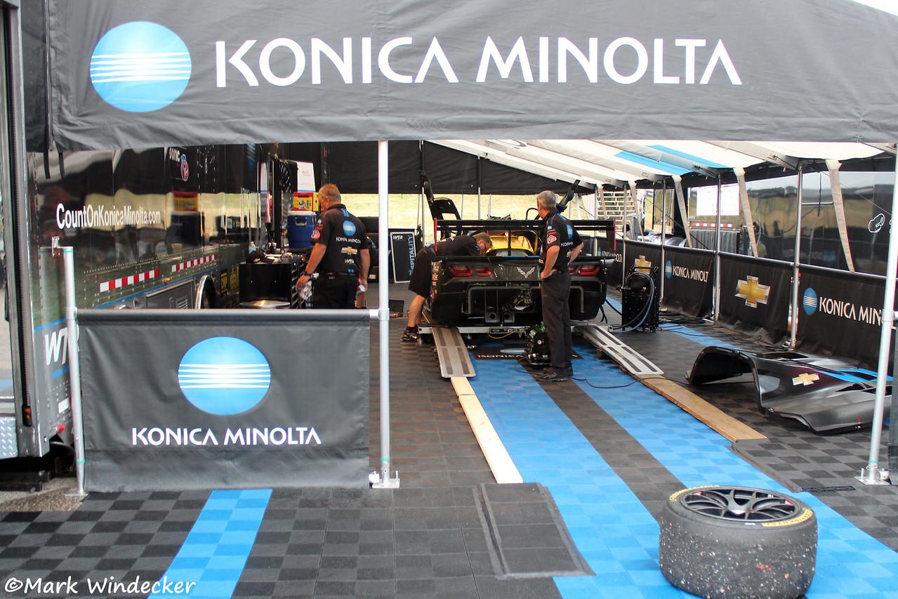 P-No. 10 Konica Minolta Corvette for Wayne Taylor Racing