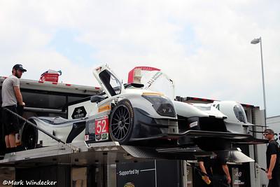 P-PR1/Mathiasen Motorsports Ligier LMP2