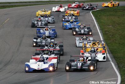 RACE #2-SUNDAY,  TO THE GREEN