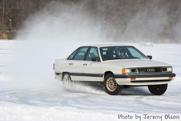 Ice Driving at Lake Cynthia Feb 2006
