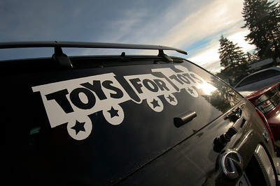 NW Toy Run - Pacific Raceways - December 2010