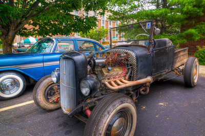 This HDR photo of a well driven hot rod was taken at Lead East in August of 2008