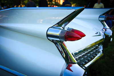 You can't have a photo gallery without including a shot of the fins of a 1959 Cadillac