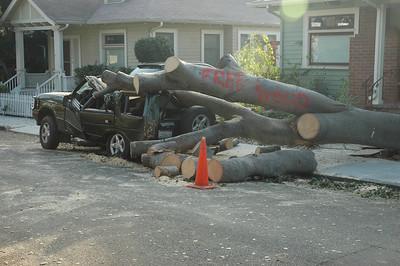 Incident on Pine Avenue