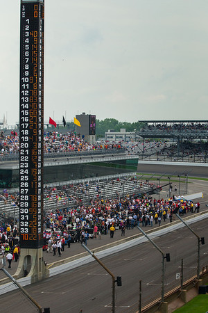 """The """"Pole"""" with qualifying cars added and others eliminated."""