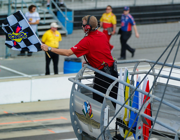 The checkered flag!