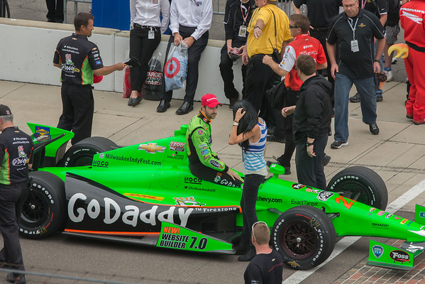 Go Daddy Car and yet another Go Daddy Girl