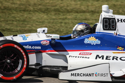 Indy and Indy Light Quals at Mid Ohio 2015