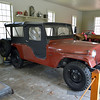 Jeep that belonged to Carl Sandburg