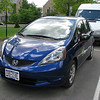 Honda Fit photoshoot on Central Campus location