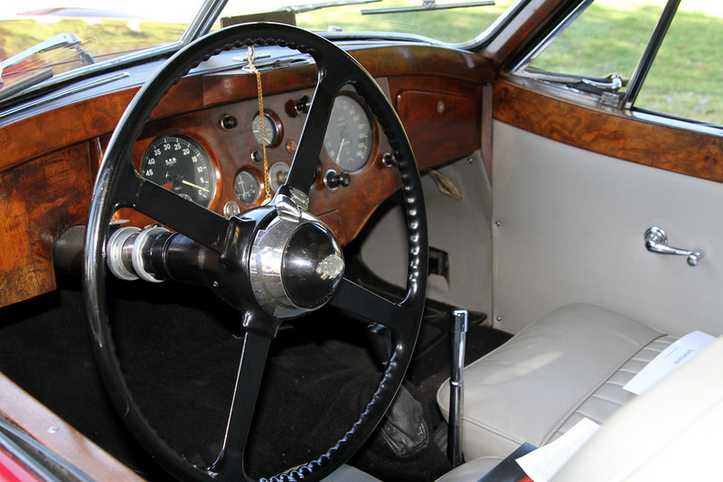 XK 120 Coupe Interior
