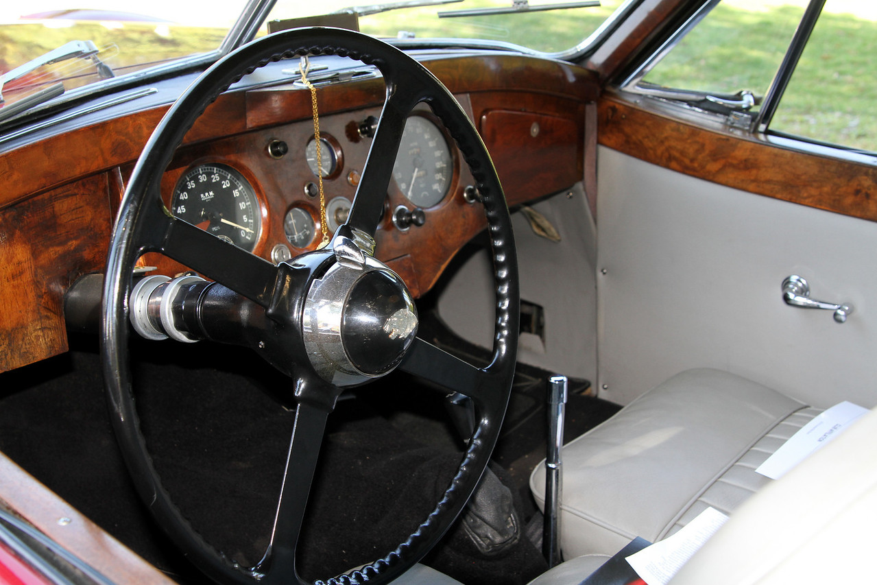 XK 120 Coupe Interior