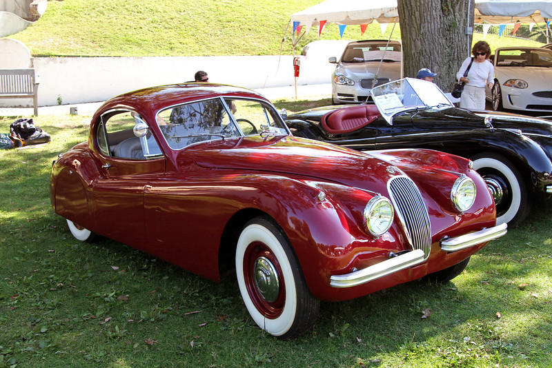 XK 120 (I think) Coupe.