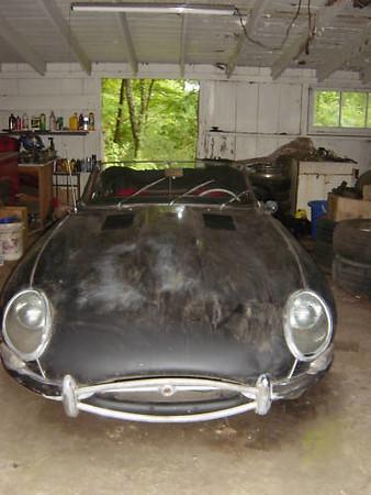 1962 Jaguar XKE - A Bizarre Find