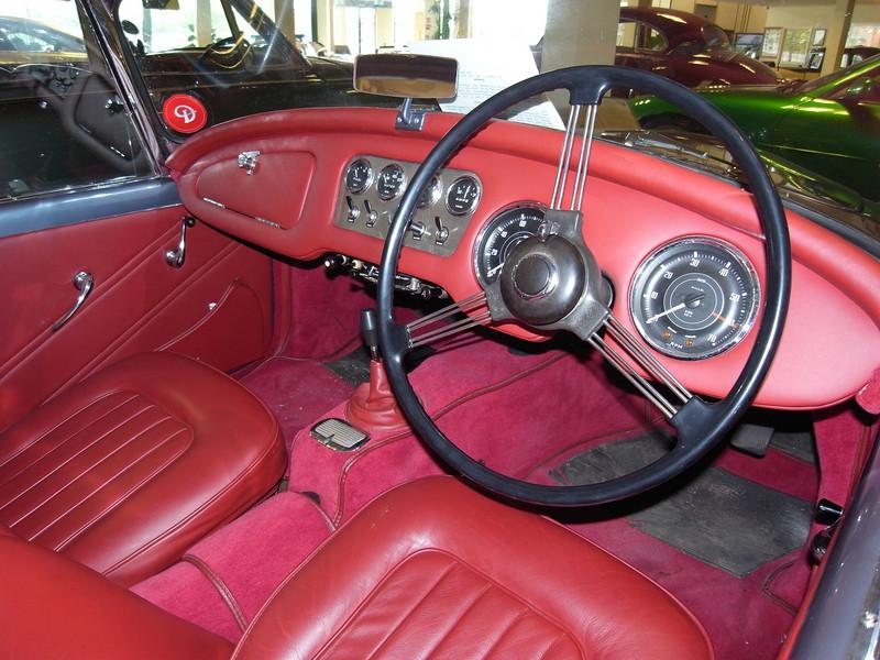 SP250 interior