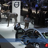 A Moose in the Volvo display ? !