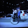 """During the Monday 1 PM Press Day, this Gothenburg family were on """"center stage"""" here talking to Håkan Samuelsson,  President and CEO of Volvo Cars."""