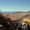 View from Jack Hammer in Johnson Valley doing a trail repair.
