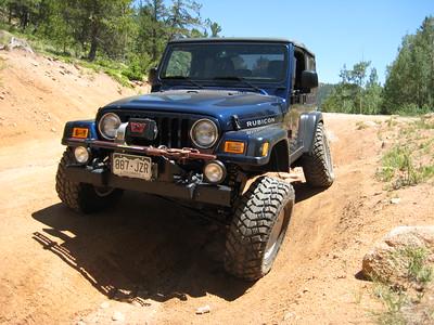 Jeep test run