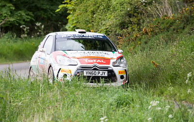Ayton, Stage 2, Jim Clark Rally 2012