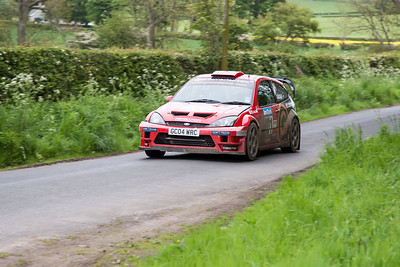 Ayton, Stage 1, Jim Clark Rally 2012