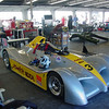 """Daytona 2005<br /> <br /> """" <br /> This is the car we ran last year at Daytona shown here in the garage... we had the pole that race but crashed out."""""""