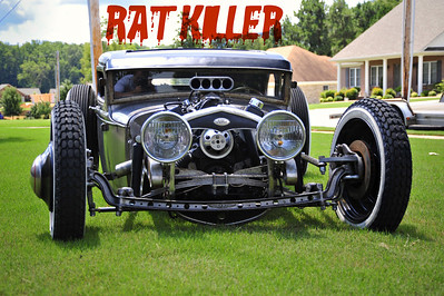 "Hot Rod Magazine future feature article Jonathon Gant's ""Ratkiller ""Rat Rod"