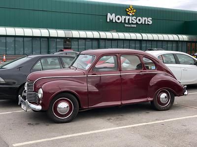 Jowett Car Club at Bradford Industrial Museum