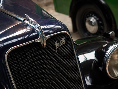 1937 Jowett 8 HP (Detail)