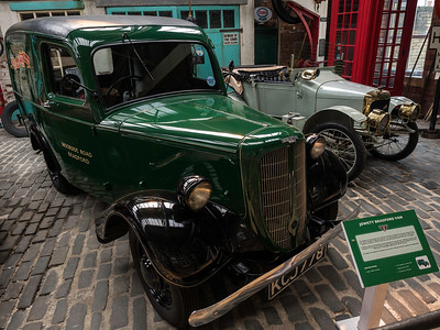 1953 Jowett Bradford Van