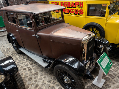 1929 Jowett 7/17 HP Fabric Saloon