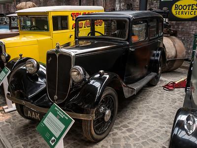 1935 Jowett Kestrel 7 HP Saloon